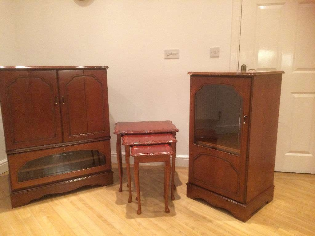 Gola Cherry Wood Tv Cabinet | In Swallownest, South Yorkshire With Regard To Cherry Wood Tv Cabinets (View 17 of 20)