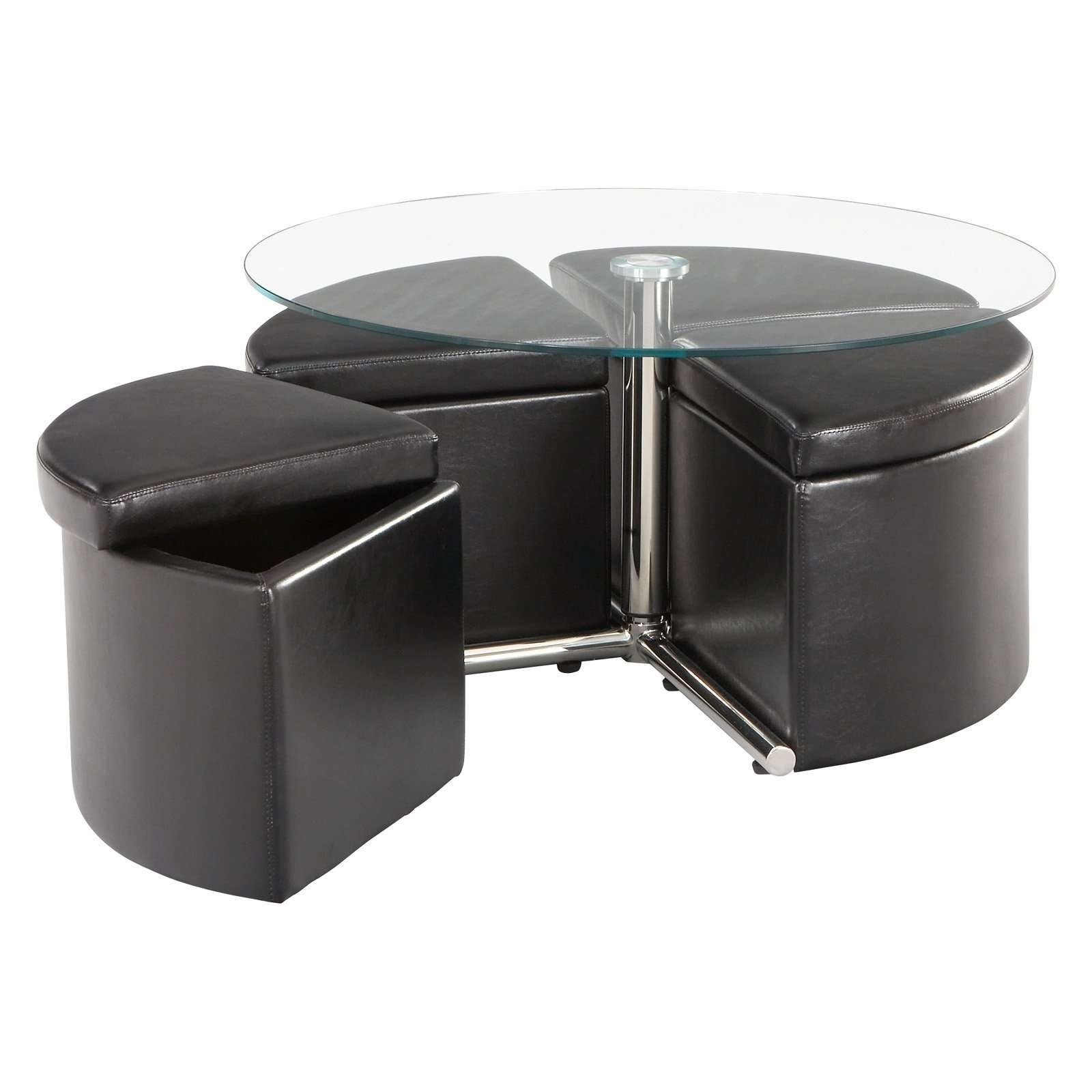 Good Round Coffee Table With Storage On Round Coffee Tables With Pertaining To Famous Circular Coffee Tables With Storage (View 12 of 20)
