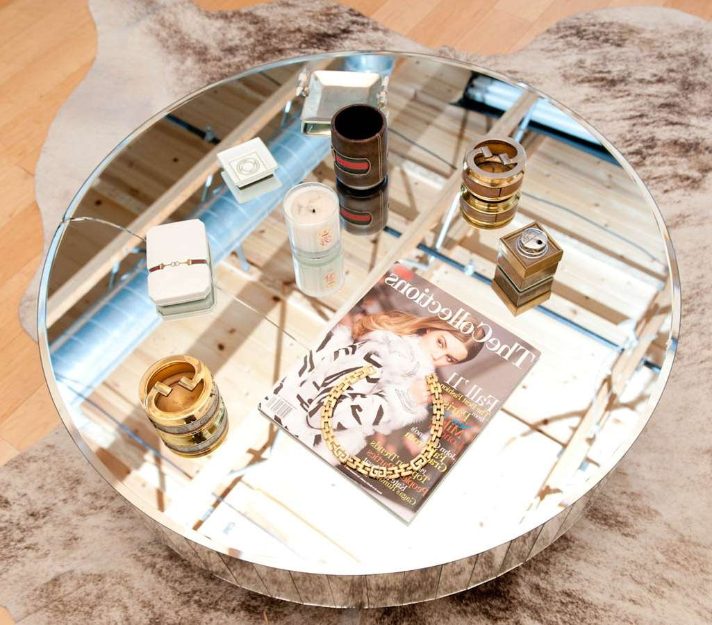 Gorgeous Mirrored Coffee Table — Jen & Joes Design In Most Popular Round Mirrored Coffee Tables (View 8 of 20)