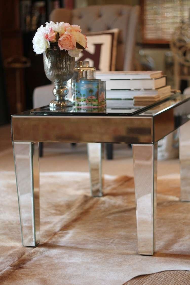 Gorgeous Mirrored Coffee Table — Jen & Joes Design Throughout Well Known Small Mirrored Coffee Tables (View 19 of 20)