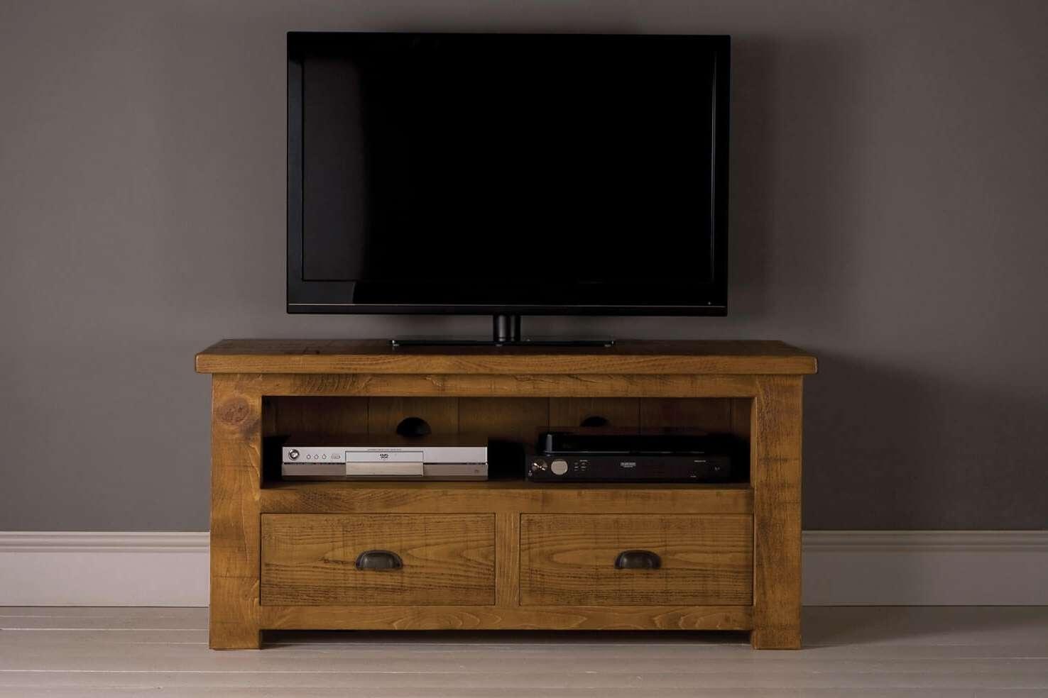 Grand Plank Tv Cabinet With Drawersindigo Furniture With Regard To Tv Cabinets With Drawers (View 9 of 20)