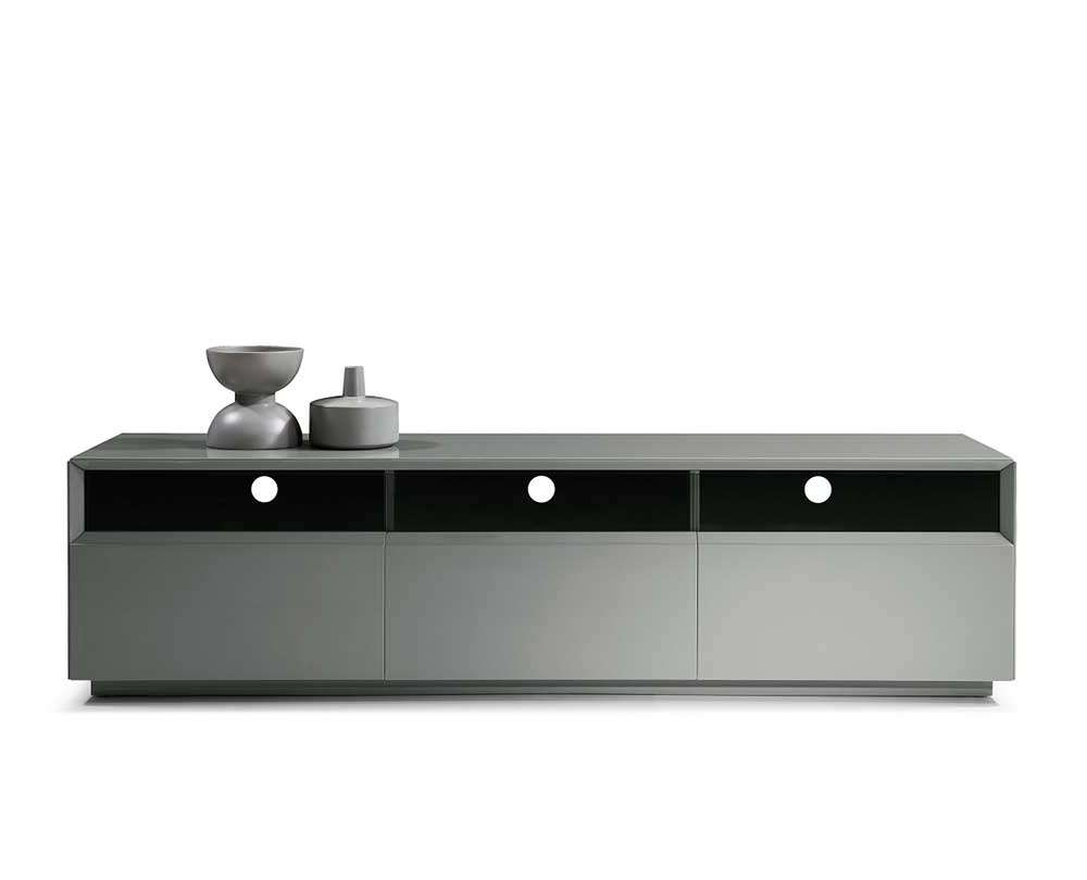 Grey High Gloss Tv Unit Sj023 | Tv Stands Inside High Gloss Tv Cabinets (View 5 of 20)