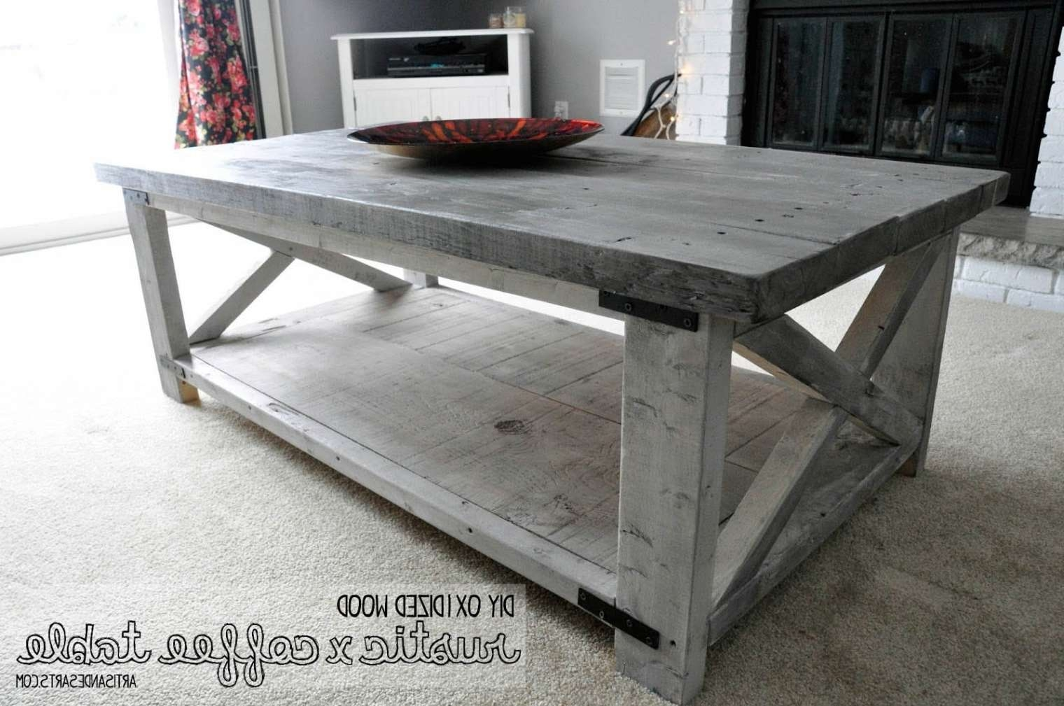 Featured Photo of Grey Wash Wood Coffee Tables