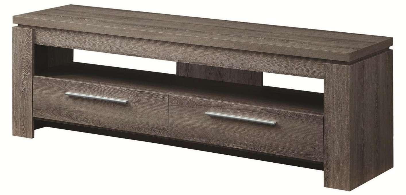 Grey Wood Tv Stand – Steal A Sofa Furniture Outlet Los Angeles Ca Pertaining To Dark Wood Tv Cabinets (Gallery 10 of 20)