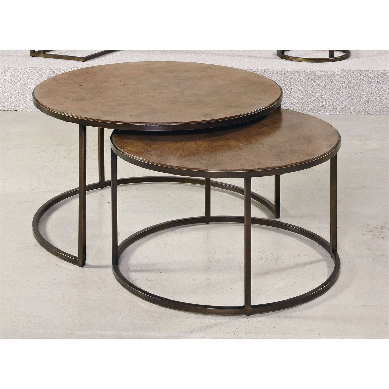 Hammary 376 911 Soho Round Cocktail Table – Homeclick Throughout Well Liked Soho Coffee Tables (View 6 of 20)