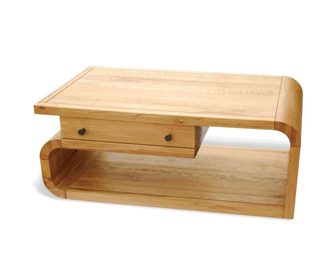 Hampshire Furniture Pertaining To Well Liked Retro Oak Coffee Tables (View 4 of 20)