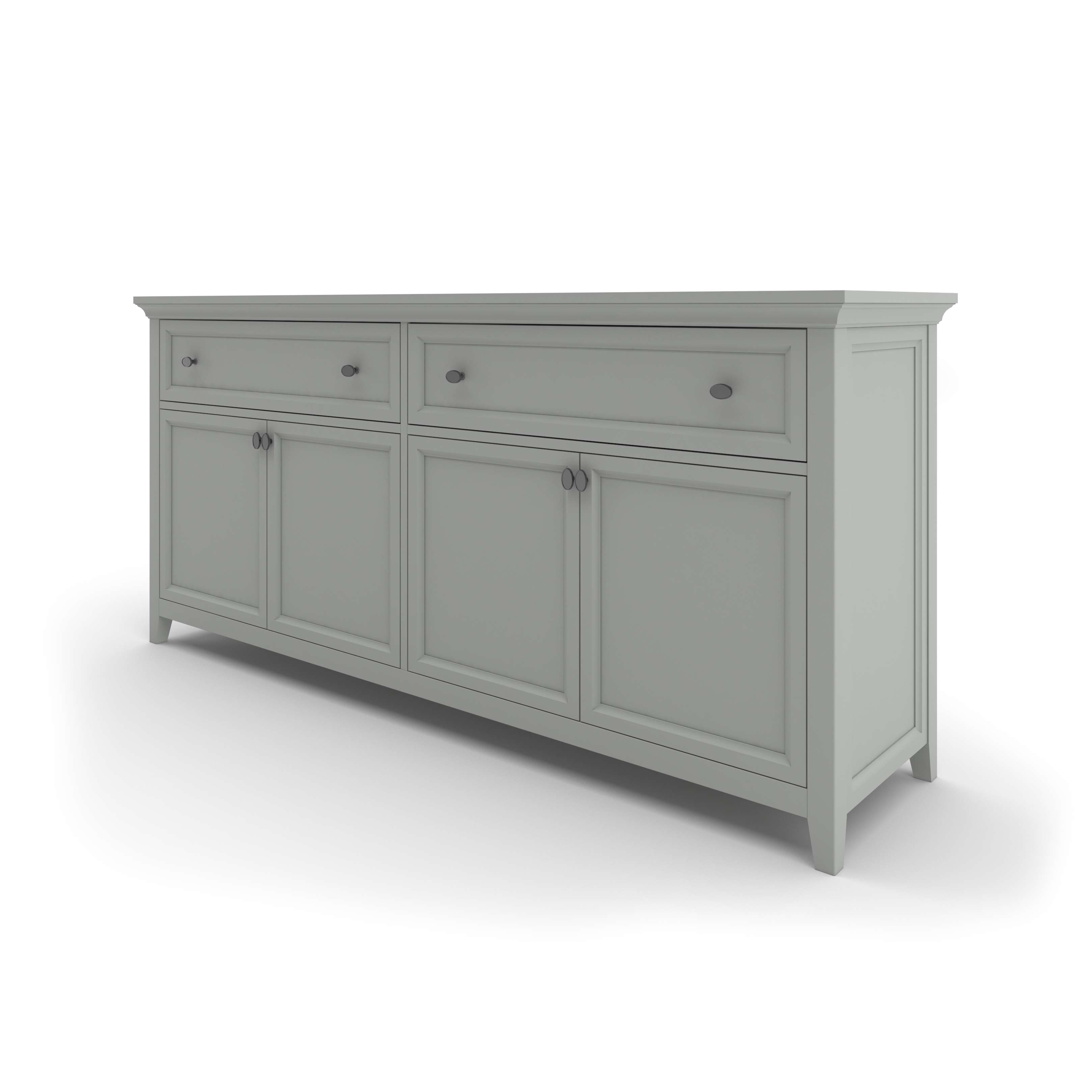 Hampton Sideboard | Niche Decor Pertaining To Grey Sideboards (View 8 of 20)