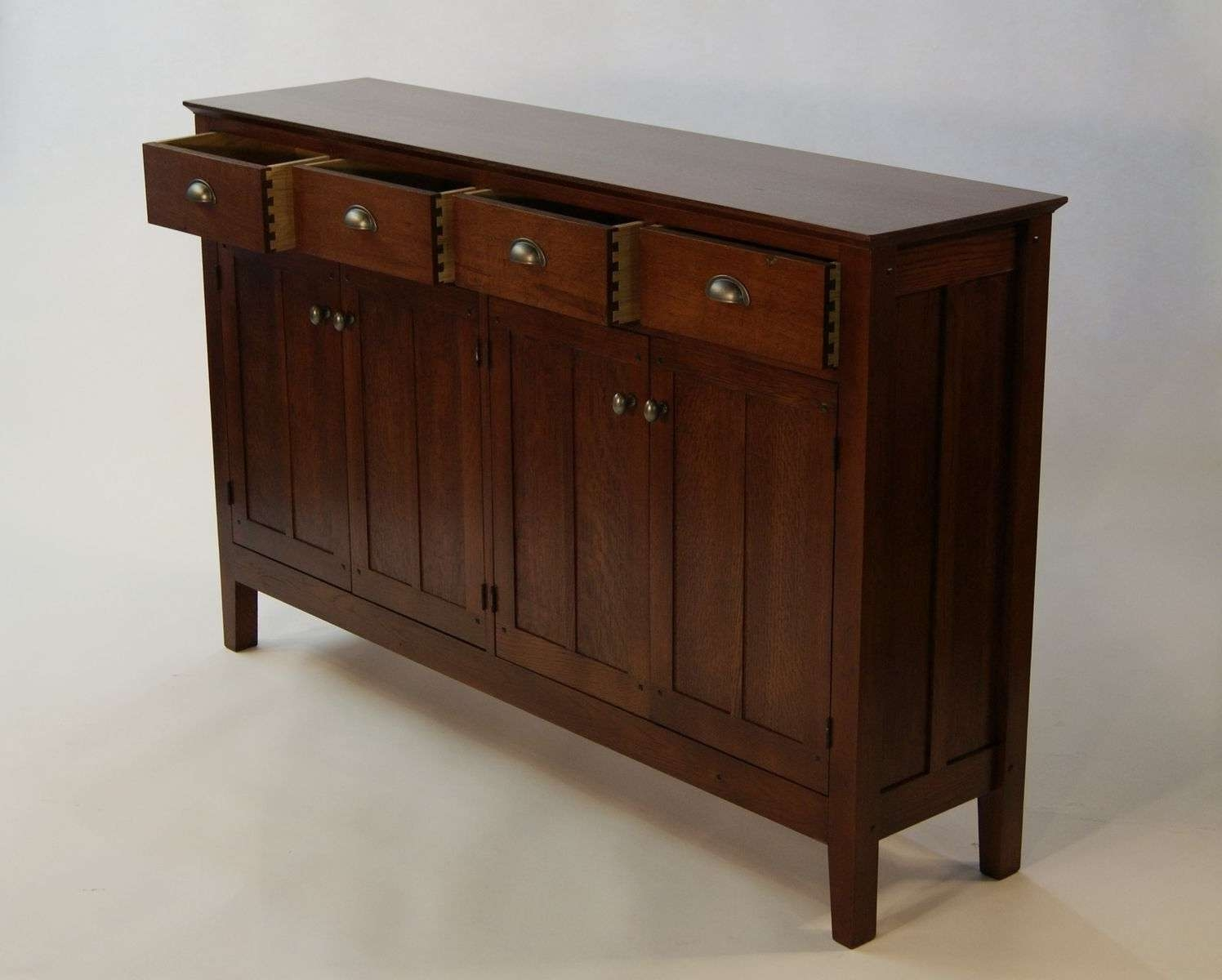 Hand Crafted Mission Sideboardshayes Furniture Design Pertaining To Mission Sideboards (View 9 of 20)