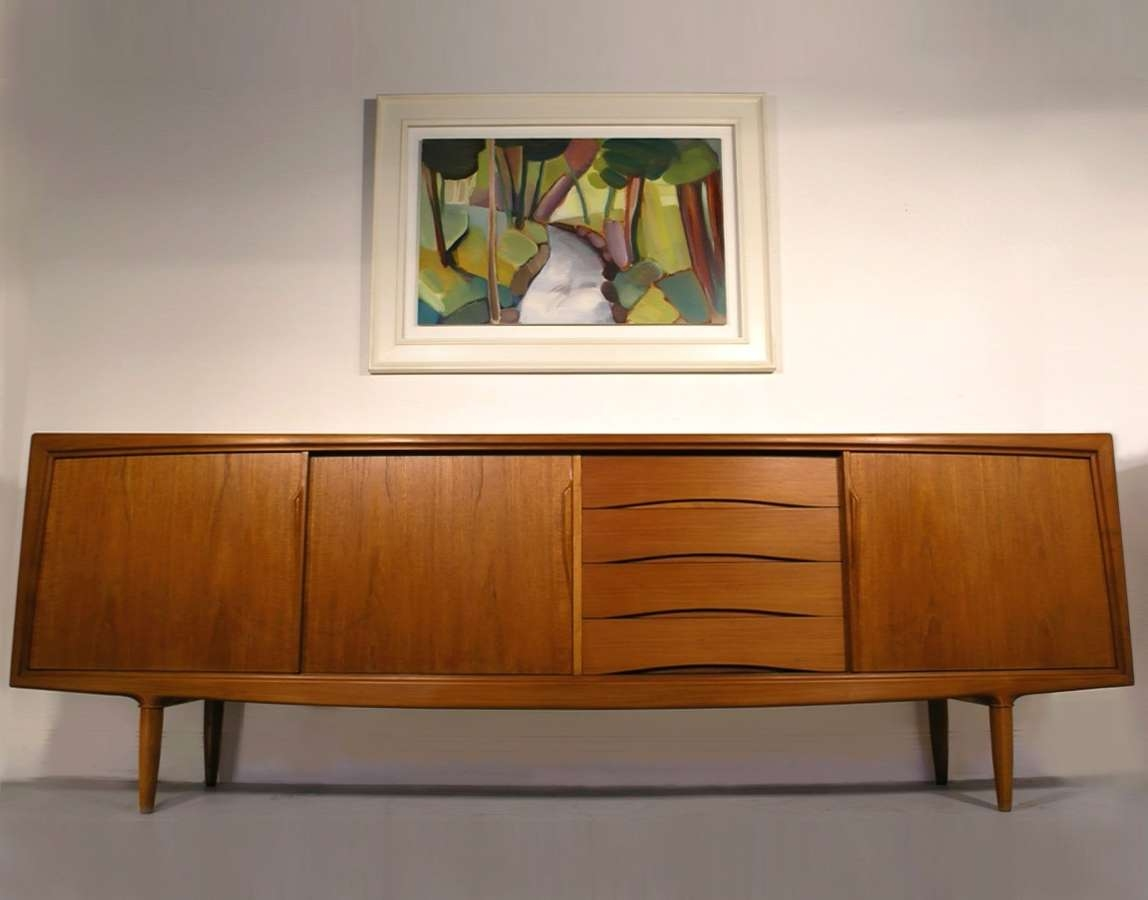 Hayloft Mid Century Sideboards In Long Sideboards (View 8 of 20)