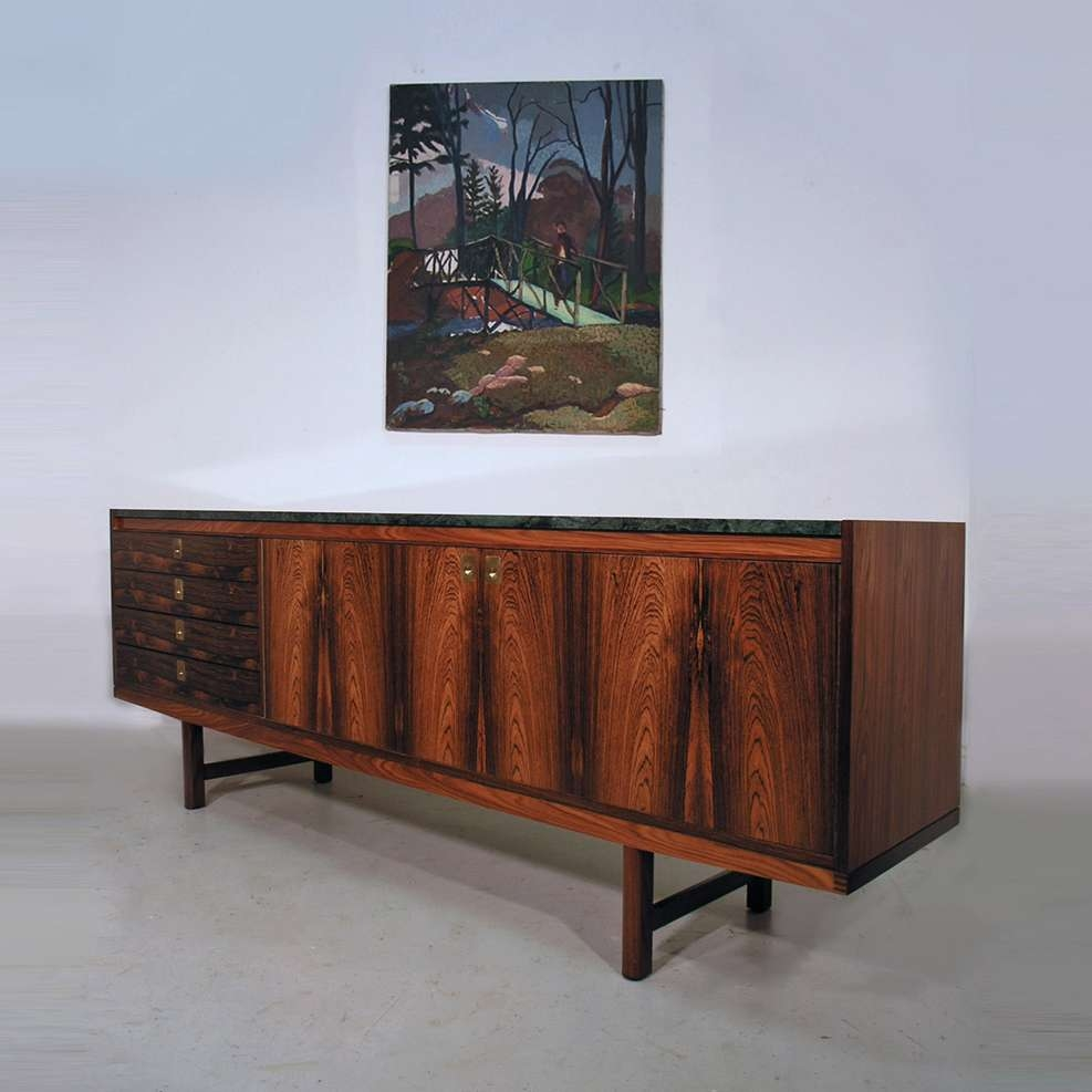 Hayloft Mid Century Sideboards Intended For Sideboards With Marble Tops (View 13 of 20)