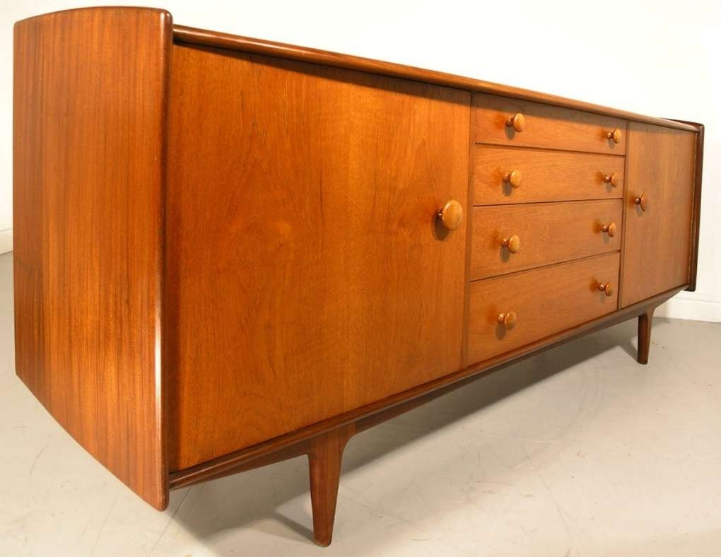 Hayloft Mid Century Younger Sideboard Teak And Afromosia John Herbert For A Younger Sideboards (View 12 of 20)