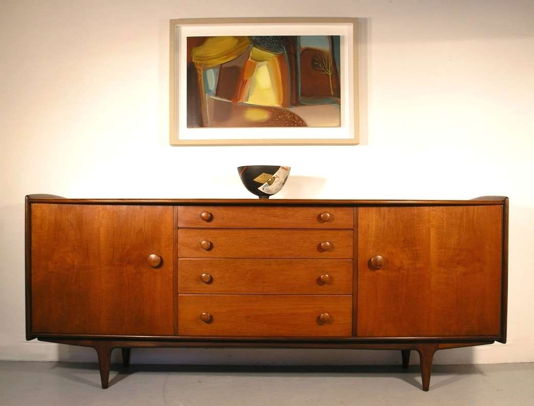 Hayloft Mid Century Younger Sideboard Teak And Afromosia John Herbert In A Younger Sideboards (View 5 of 20)
