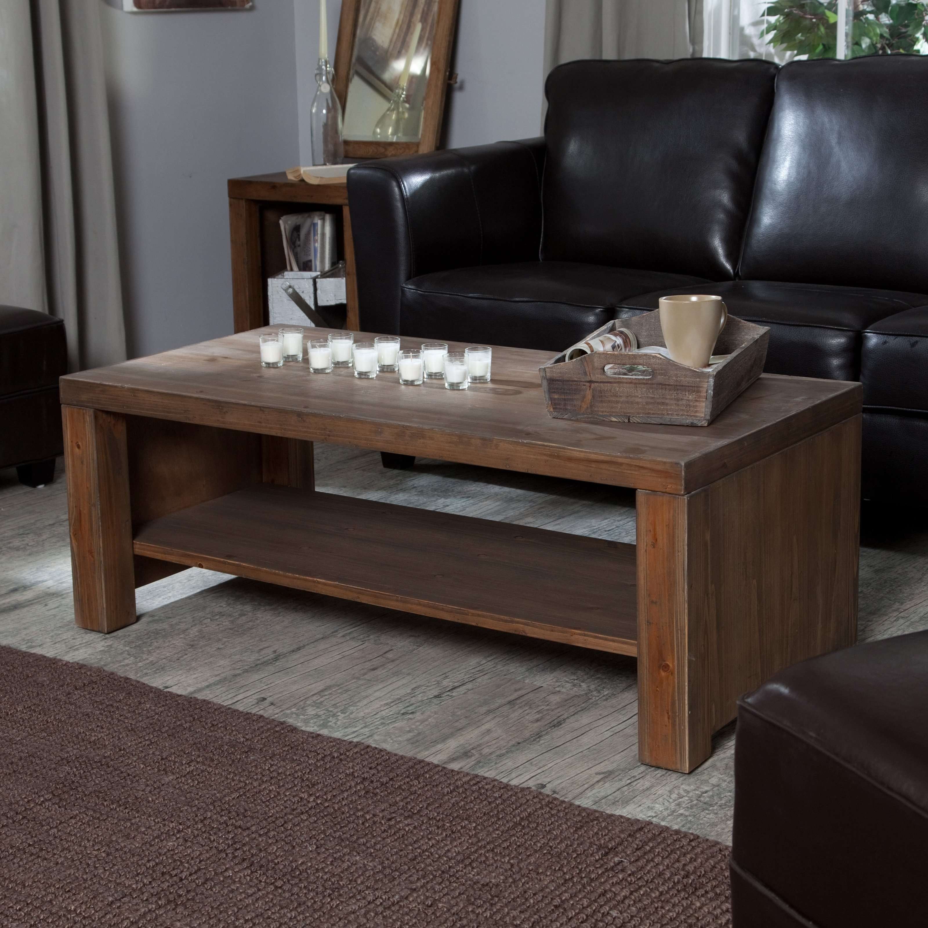 Hayneedle Regarding Latest Solid Wood Coffee Tables (View 11 of 20)