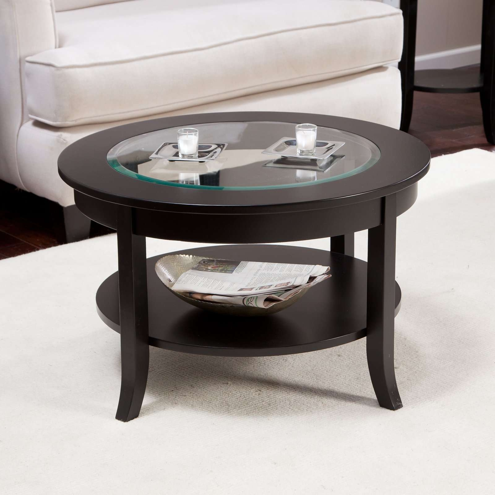 Hayneedle Regarding Popular Circular Coffee Tables (View 9 of 20)