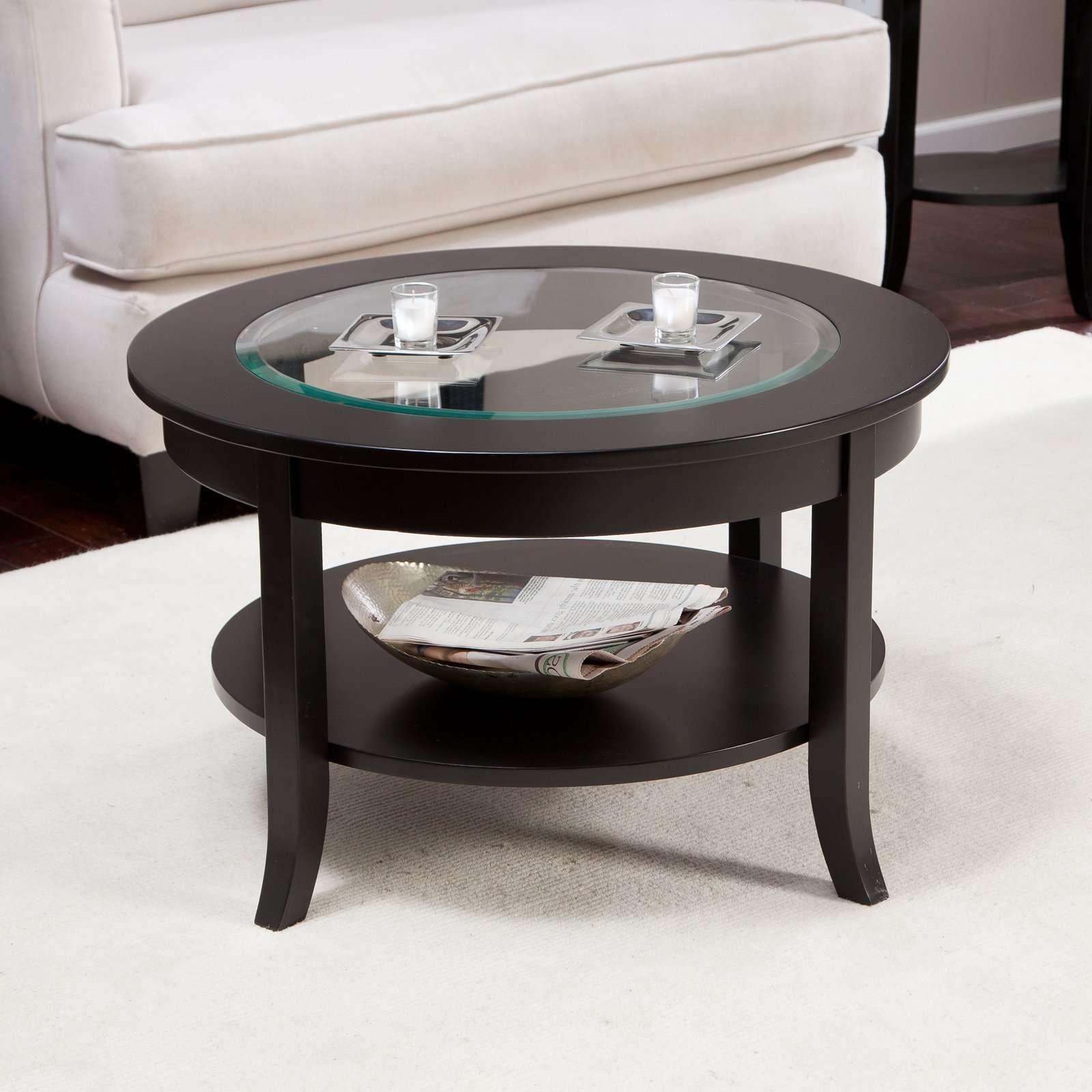 Hayneedle Regarding Popular Circular Coffee Tables (Gallery 10 of 20)