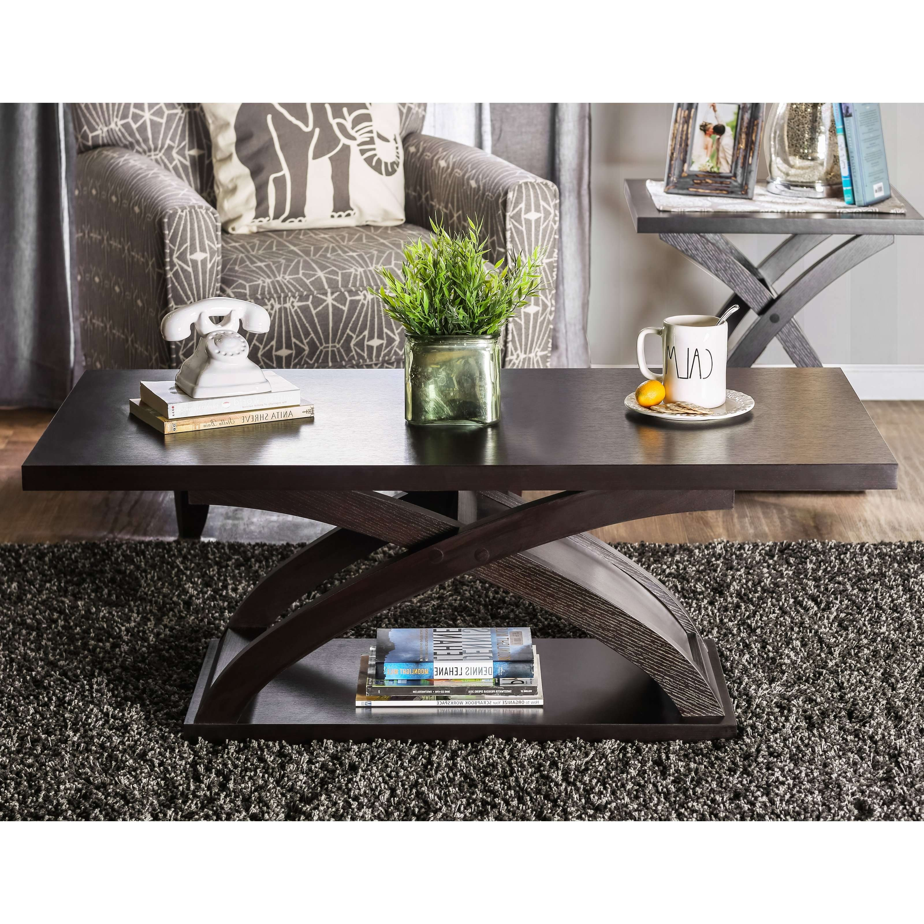 Hayneedle With Best And Newest Espresso Coffee Tables (View 8 of 20)