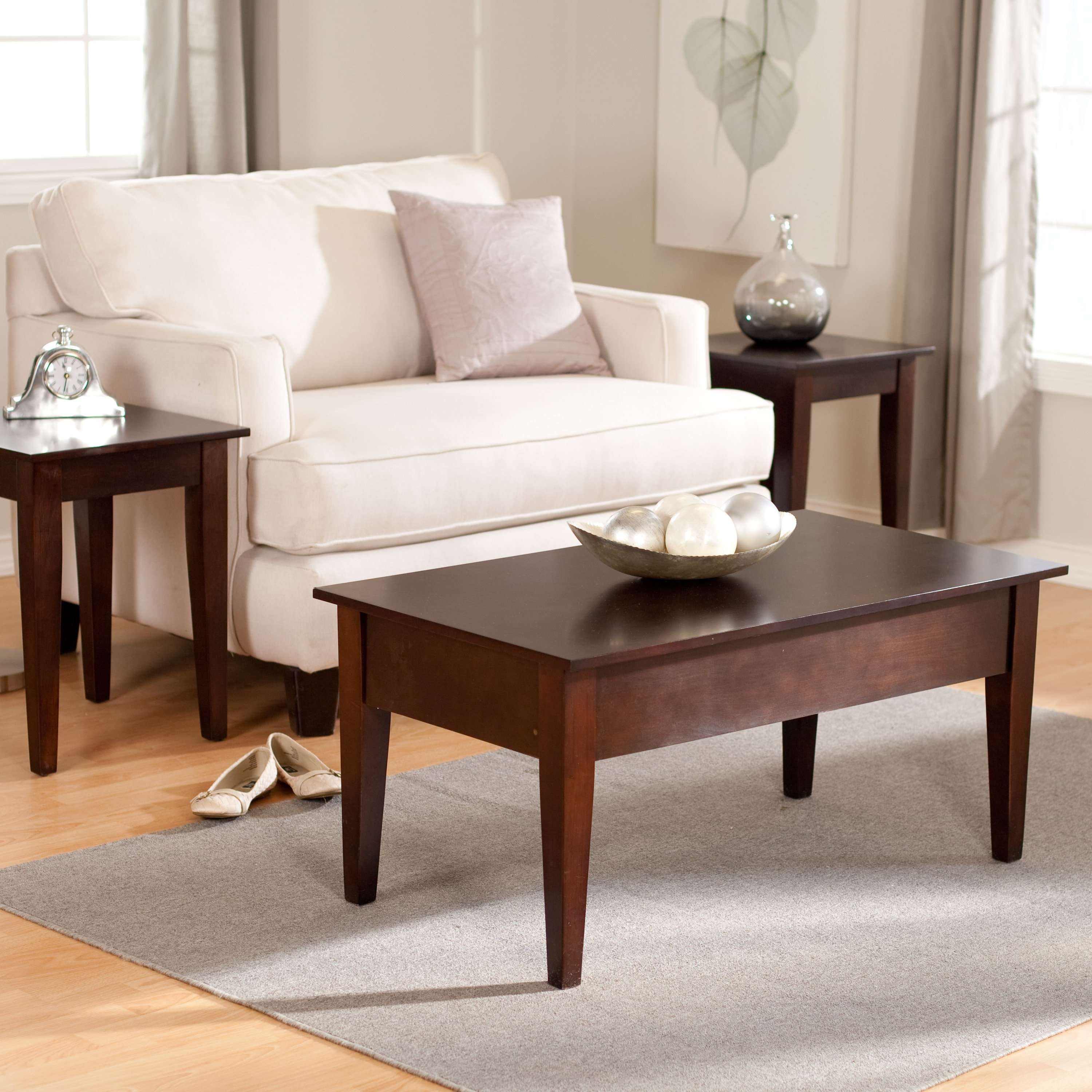 Hayneedle Within Best And Newest Espresso Coffee Tables (View 9 of 20)