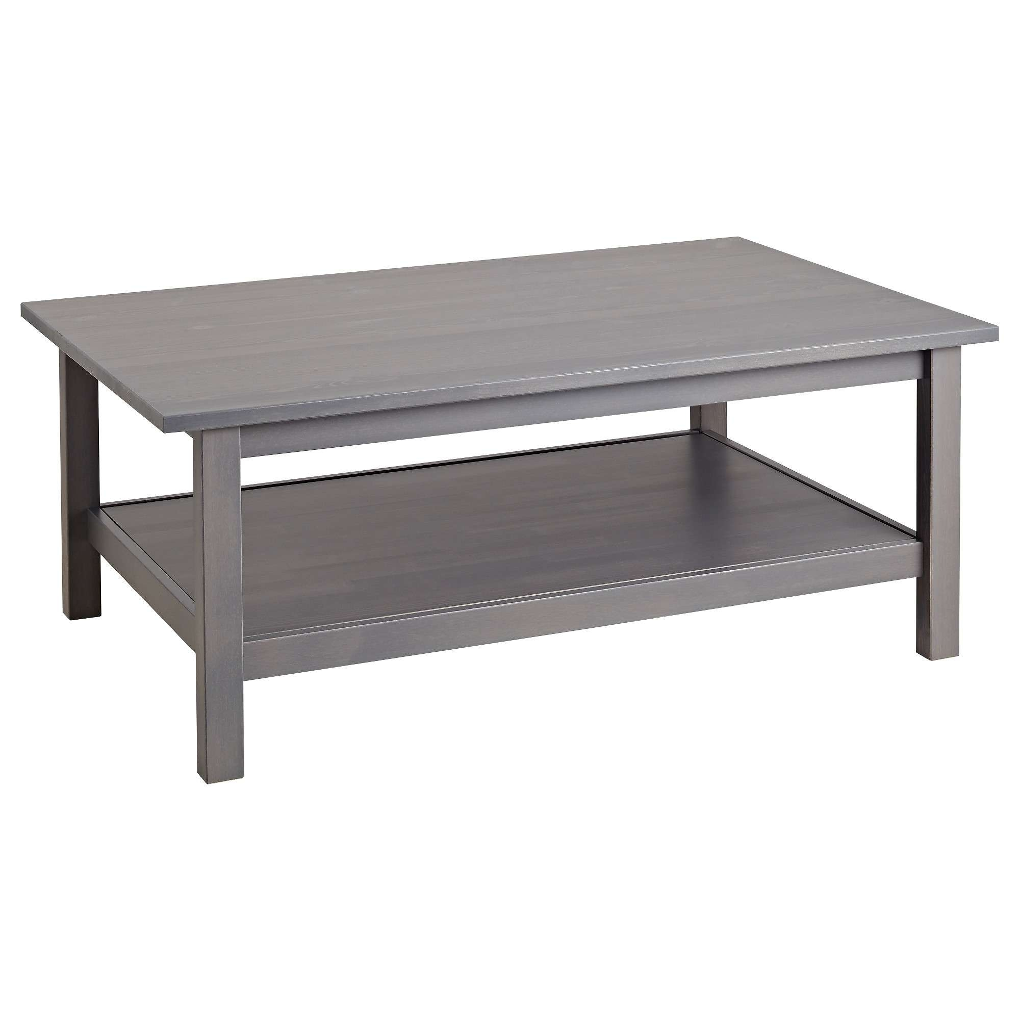 Hemnes Coffee Table – Dark Gray Stained – Ikea With Regard To Well Known White And Black Coffee Tables (View 8 of 20)