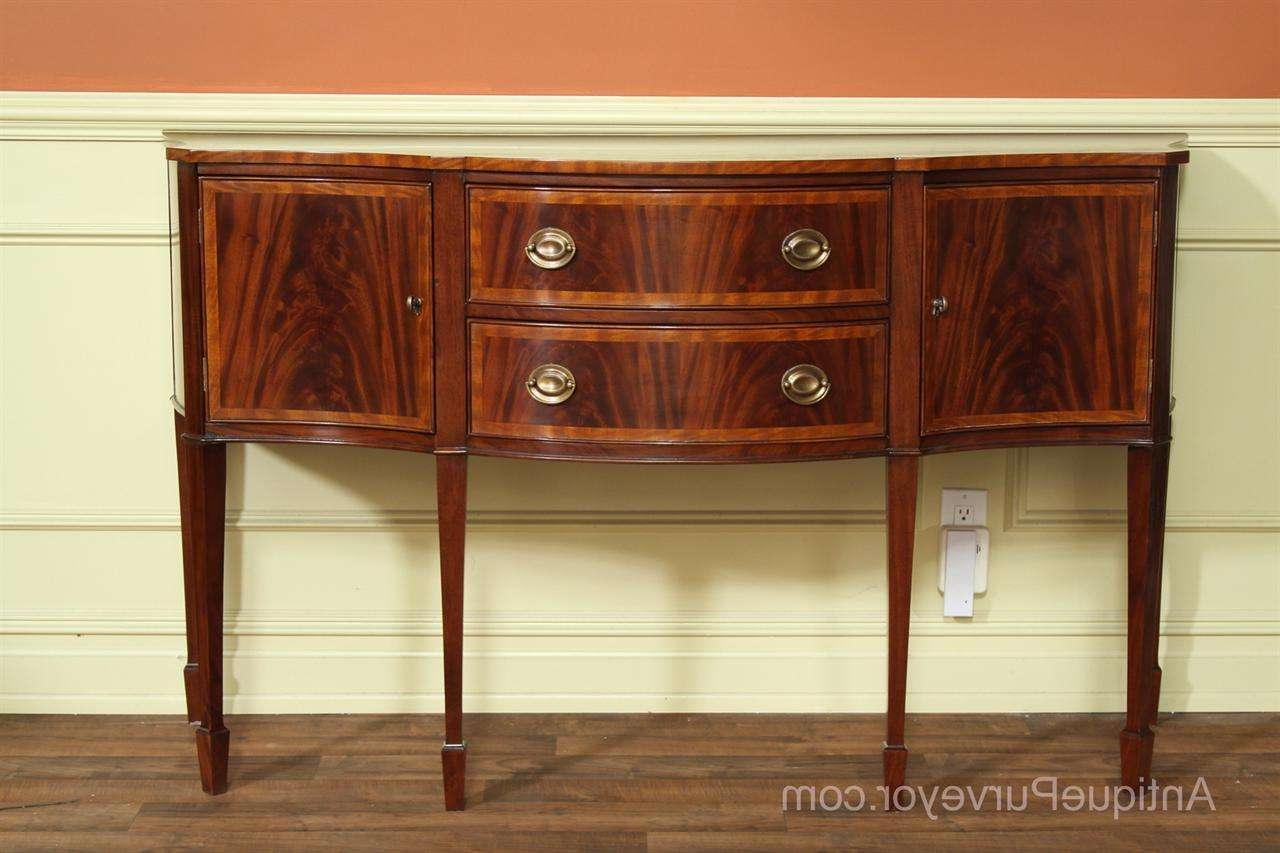 Hepplewhite Or Federal Sideboard, High End Furniture With Regard To Furniture Sideboards (View 9 of 20)