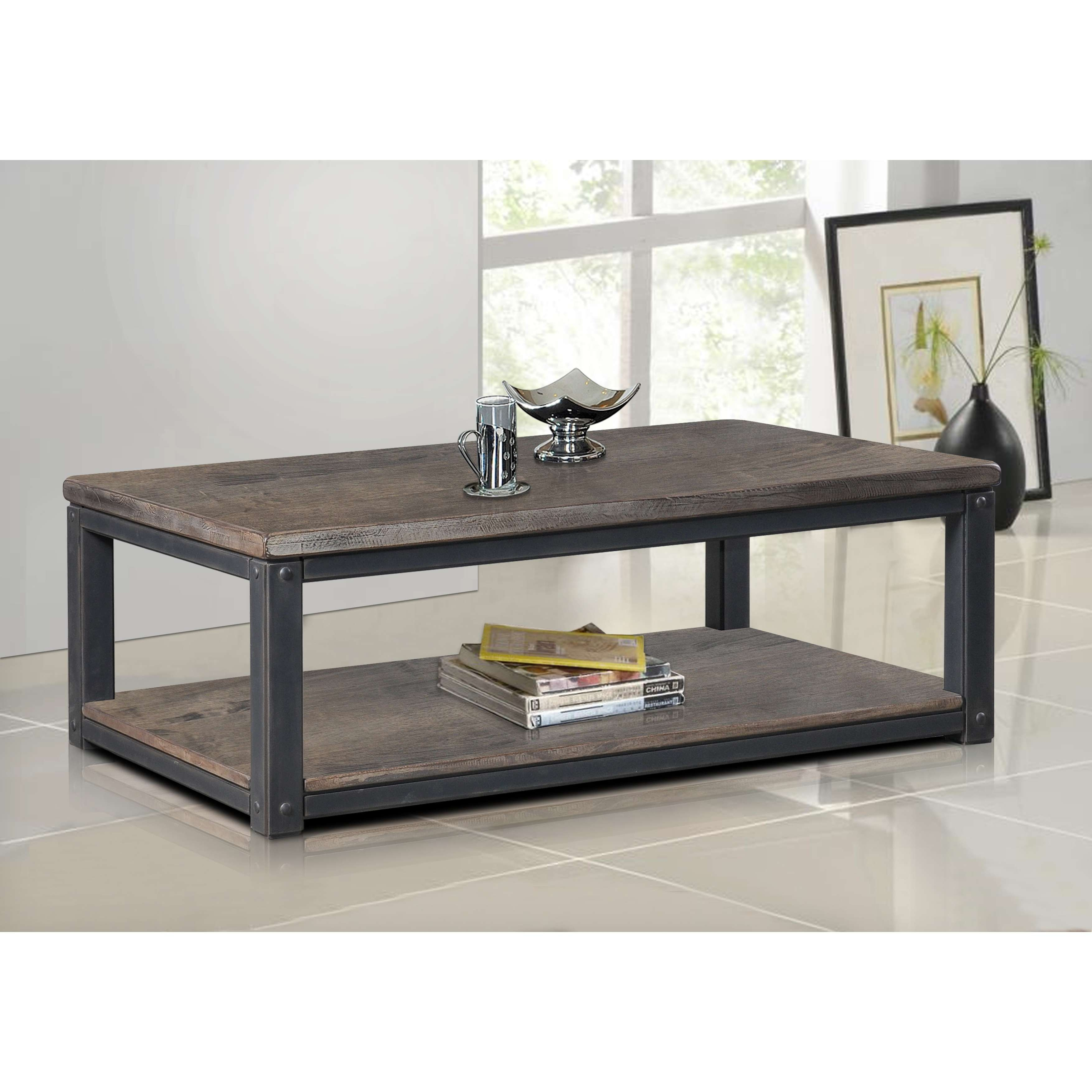 Heritage Coffee Table – Free Shipping Today – Overstock – 15295924 Intended For Fashionable Rectangular Coffee Tables (View 19 of 20)