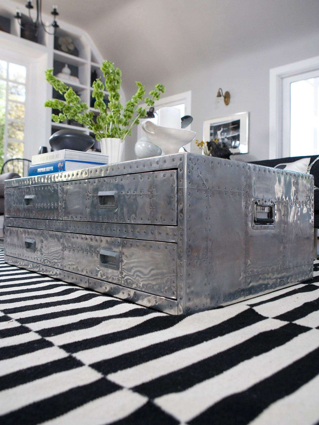 Hgtv In Well Known Stainless Steel Trunk Coffee Tables (View 8 of 20)