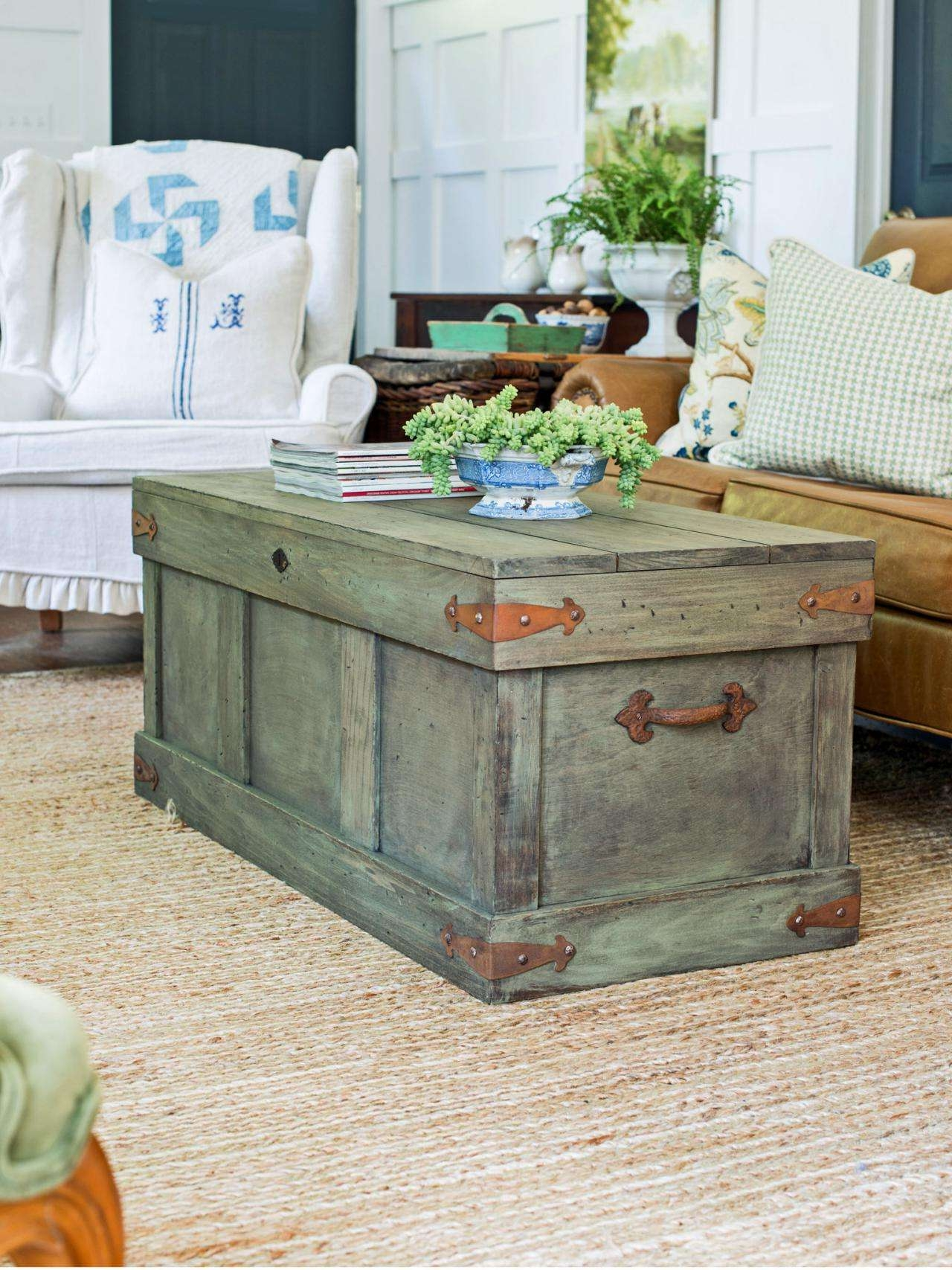 Hgtv Inside Widely Used Trunks Coffee Tables (View 9 of 20)