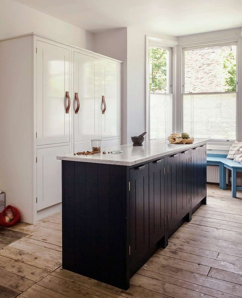Hidden Cupboard Kitchen Eclectic With Marble Dark Wood Buffets And In Eclectic Sideboards (View 20 of 20)