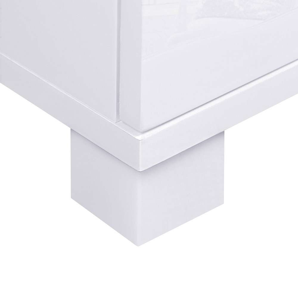 High Gloss Sideboard Storage Cabinet Cupboard White – Wholesales With Regard To White High Gloss Sideboards (View 9 of 20)