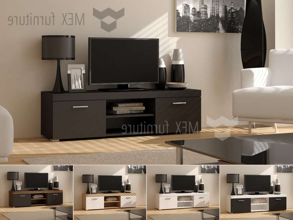 High Gloss Tv Cabinets, Unit – Mex Furniture In Led Tv Cabinets (View 16 of 20)