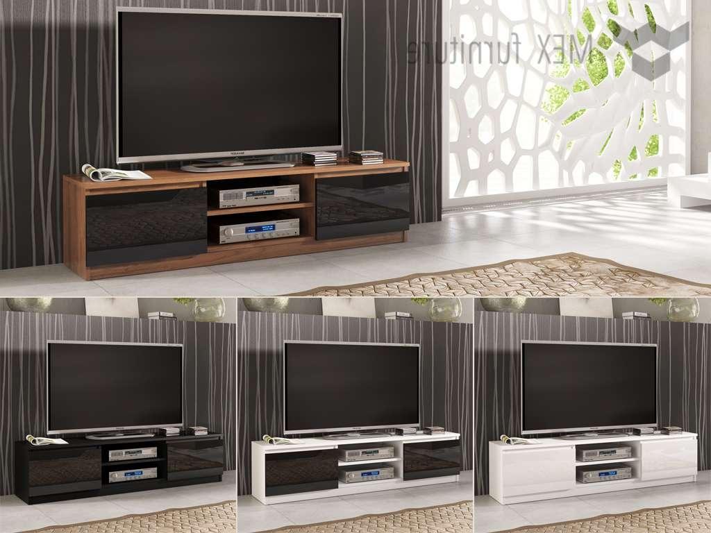 High Gloss Tv Cabinets, Unit – Mex Furniture Pertaining To High Gloss Tv Cabinets (View 8 of 20)