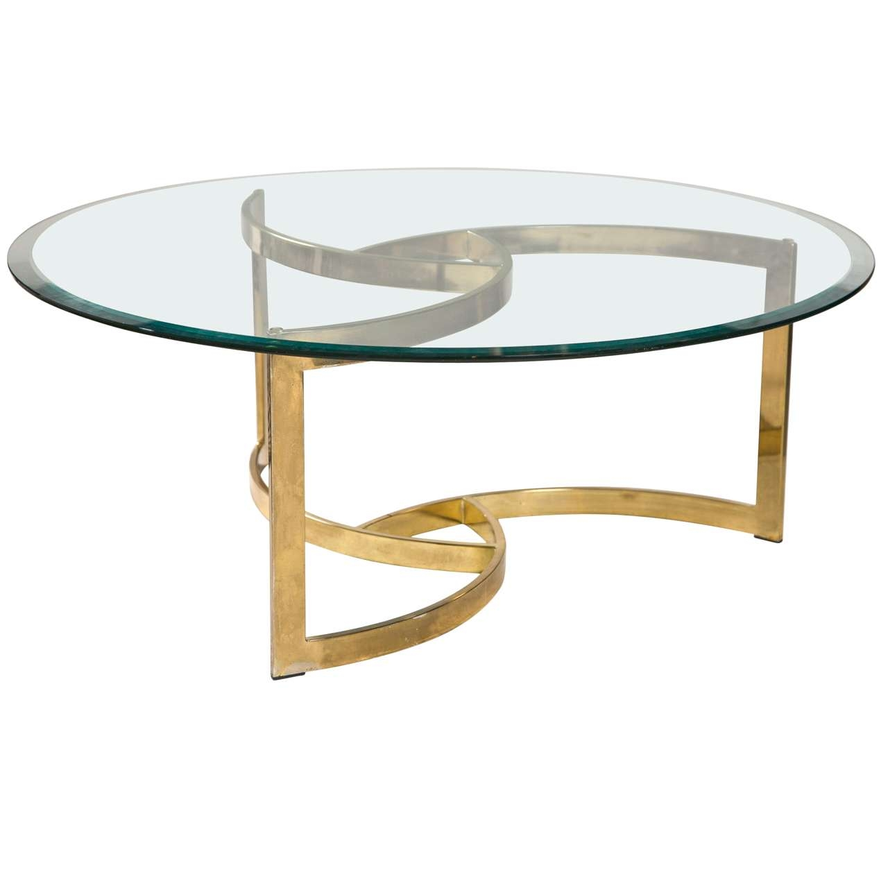 Hinreißend Modern Round Coffee Table Trend For With Storage Inside Well Known Round Glass Coffee Tables (Gallery 7 of 20)