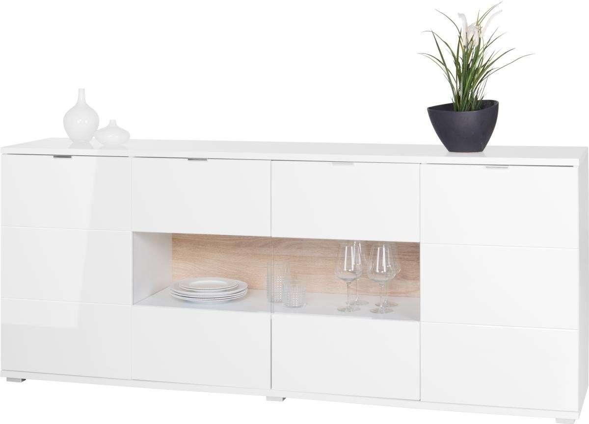 Hochglanz Sideboards | Günstig Online Kaufen | Poco Onlineshop In Zum Aufhängen Sideboards (View 5 of 20)