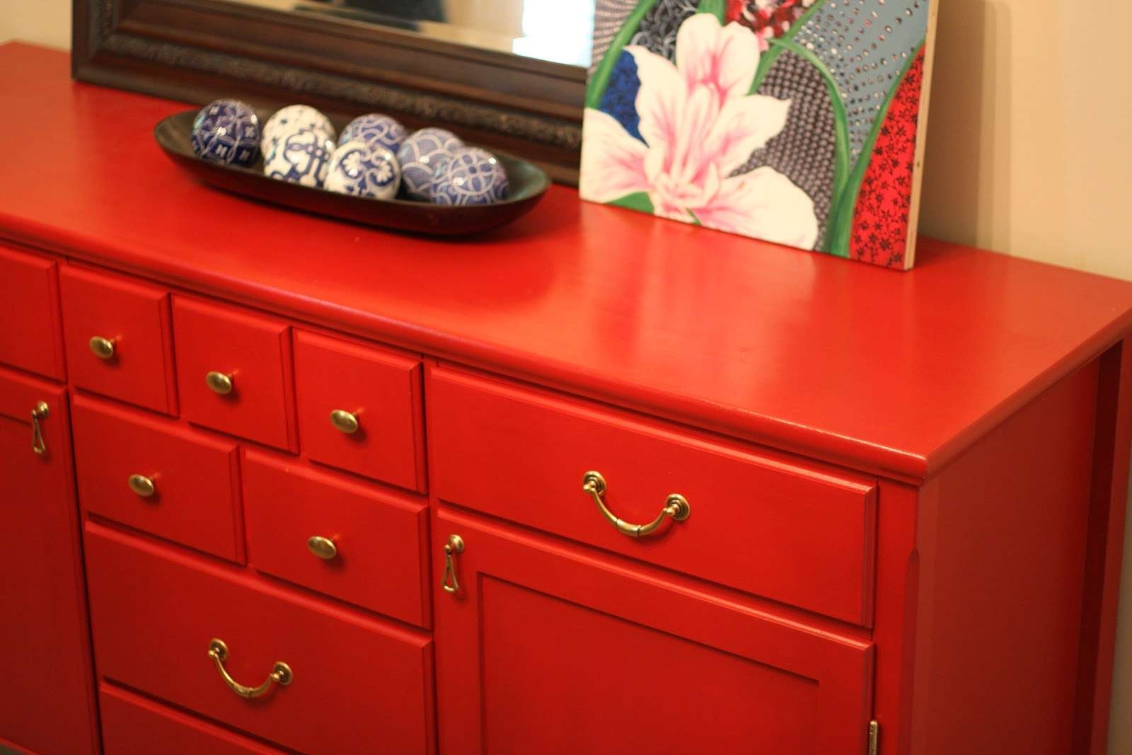 Hodge:podge: One Room Challenge: Week Two : An Ikea Hack Throughout Ikea Red Sideboards (View 4 of 20)
