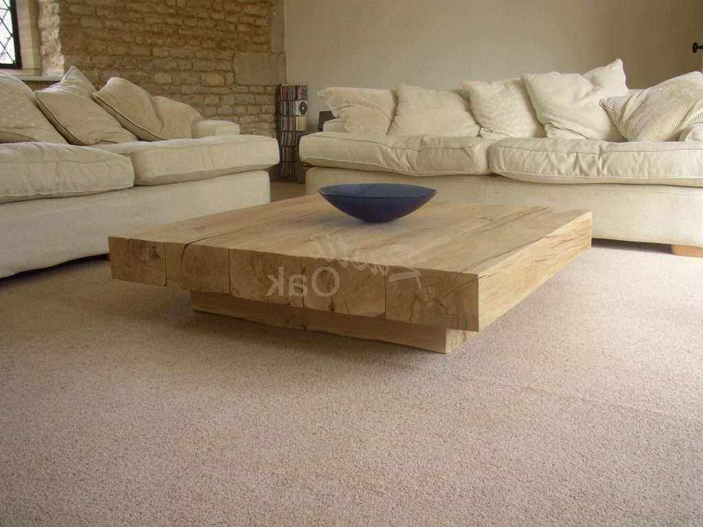 Home ~ Cream Coffee Table Awesome Furniture Ideas Low Square Inside Well Known Oak And Cream Coffee Tables (View 10 of 20)