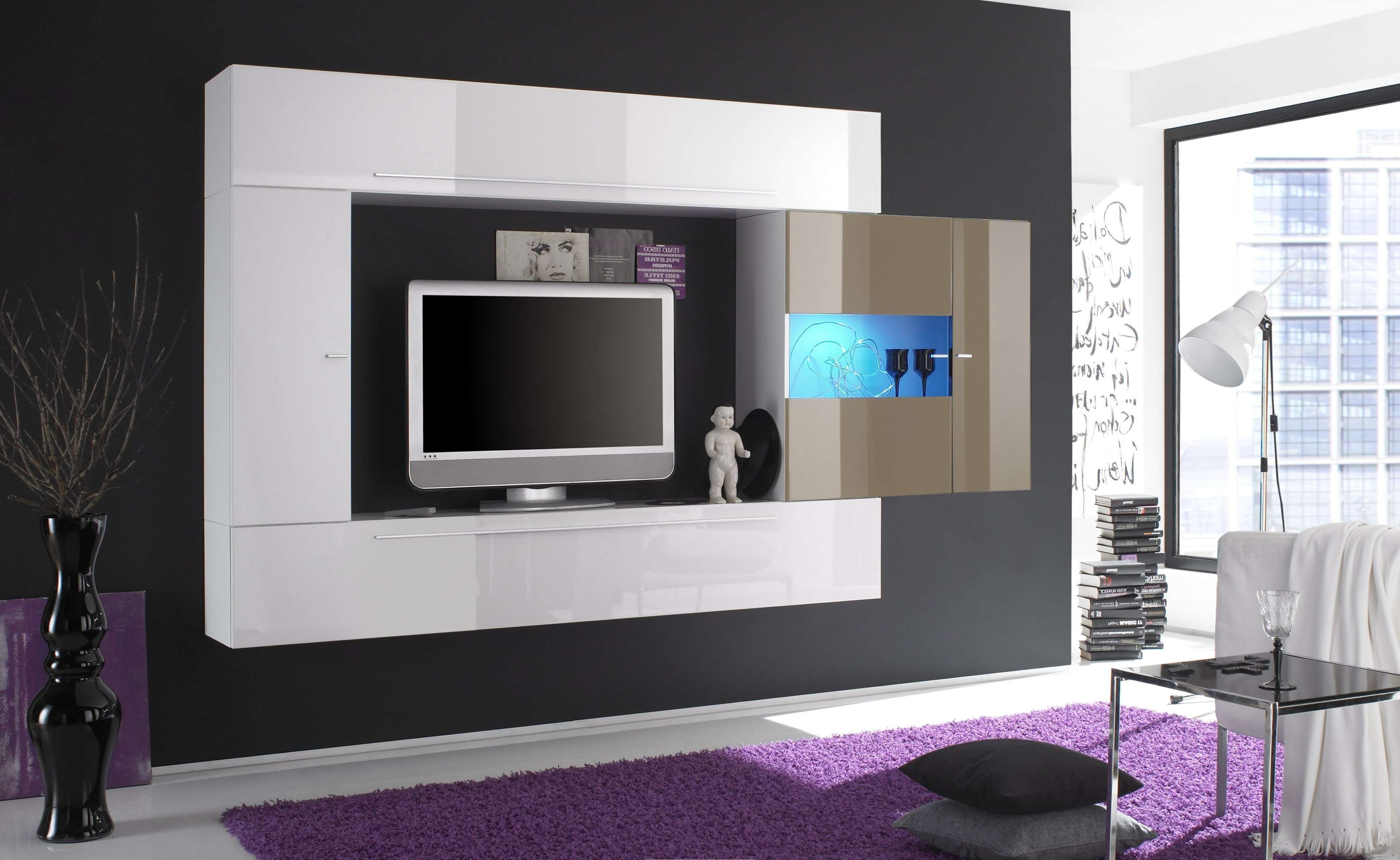 Home Decor : Wall Mounted Flat Screen Tv Cabinet Grey Bathroom Inside Wall Mounted Tv Cabinets For Flat Screens (View 7 of 20)