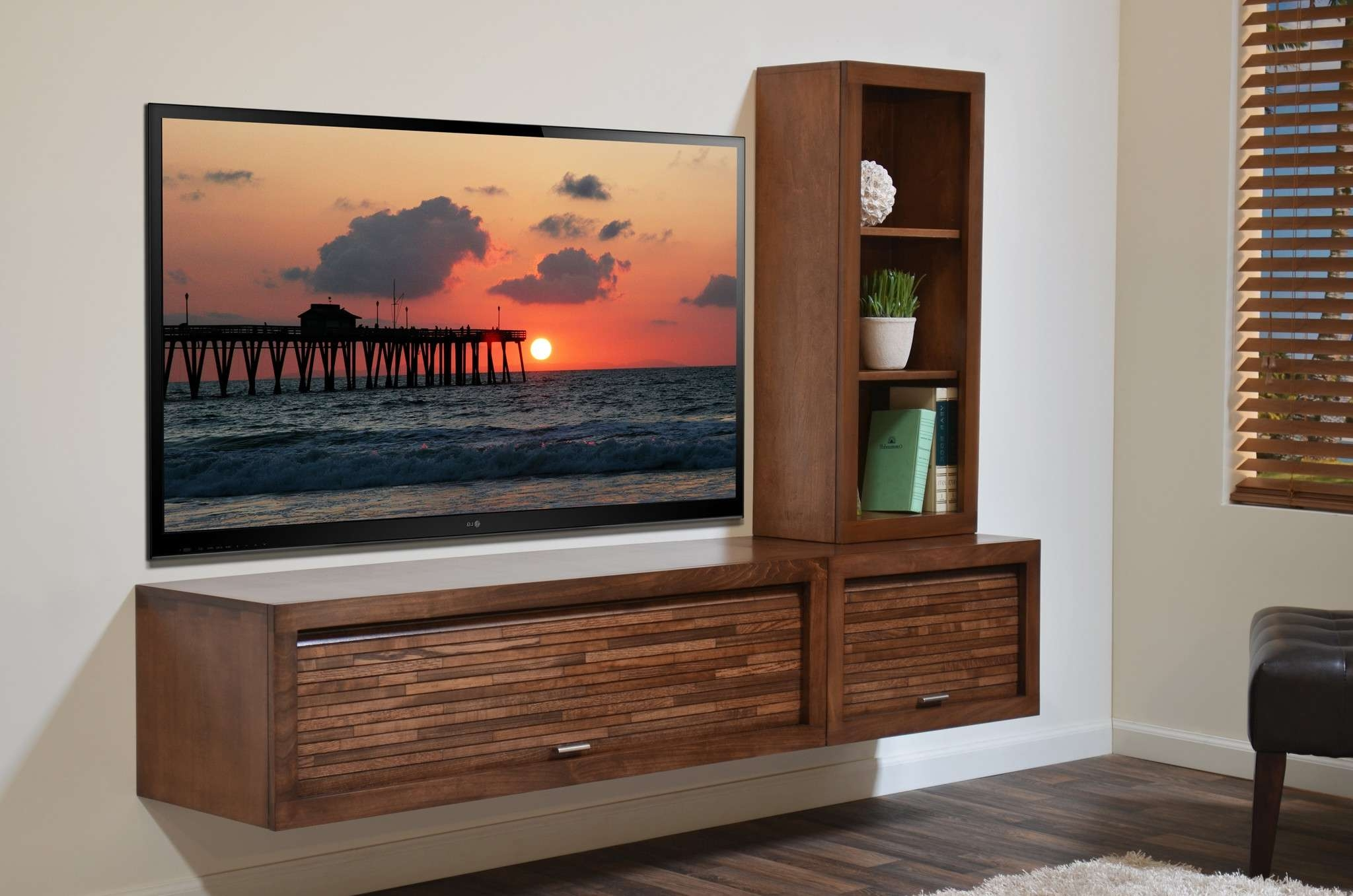 Home Decor : Wall Mounted Flat Screen Tv Cabinet Small Backyard Within Wall Mounted Tv Cabinets For Flat Screens (View 9 of 20)