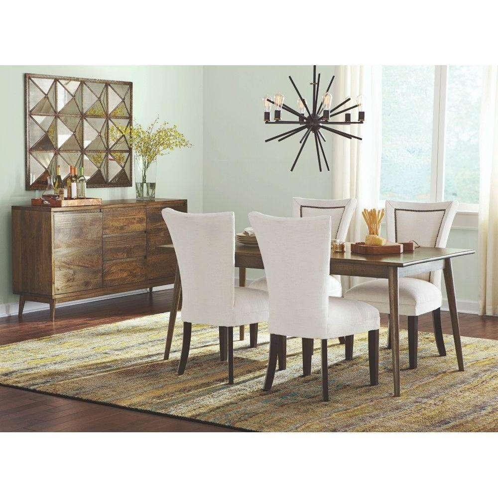 Home Decorators Collection Conrad Antique Natural Dining Table Inside Dining Room Sets With Sideboards (View 14 of 20)