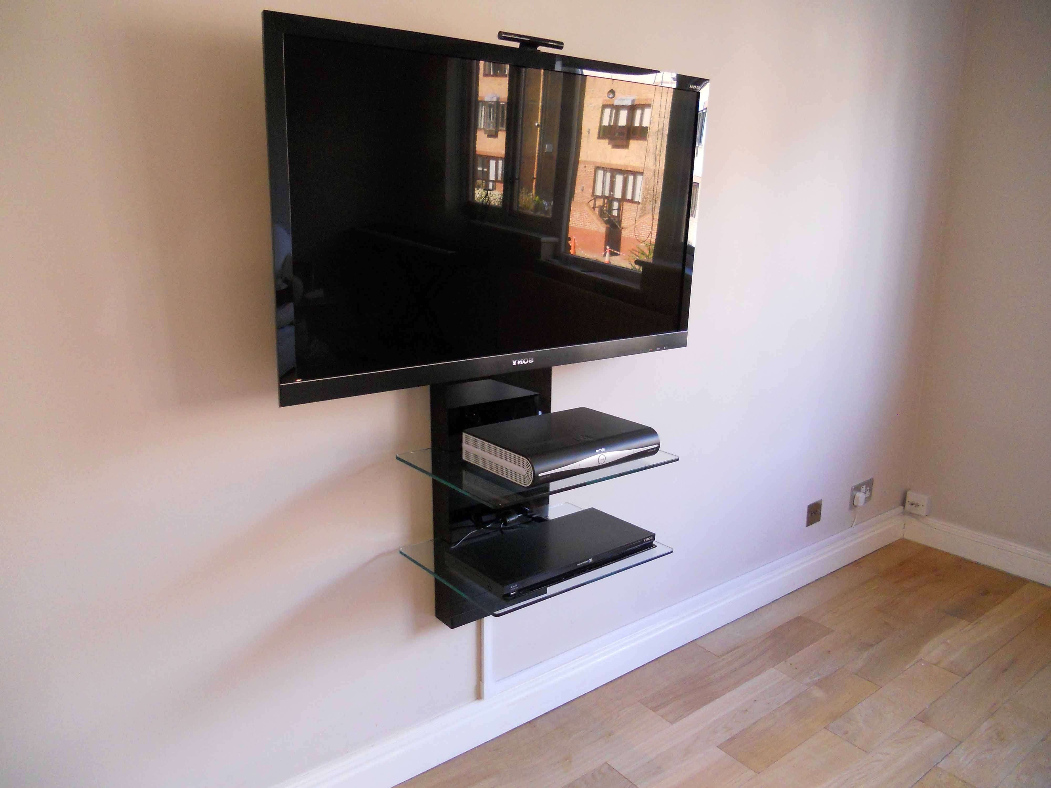 Home Design : Floating Glass Shelves For Tv With Regard To Home In Asian Tv Cabinets (View 15 of 20)