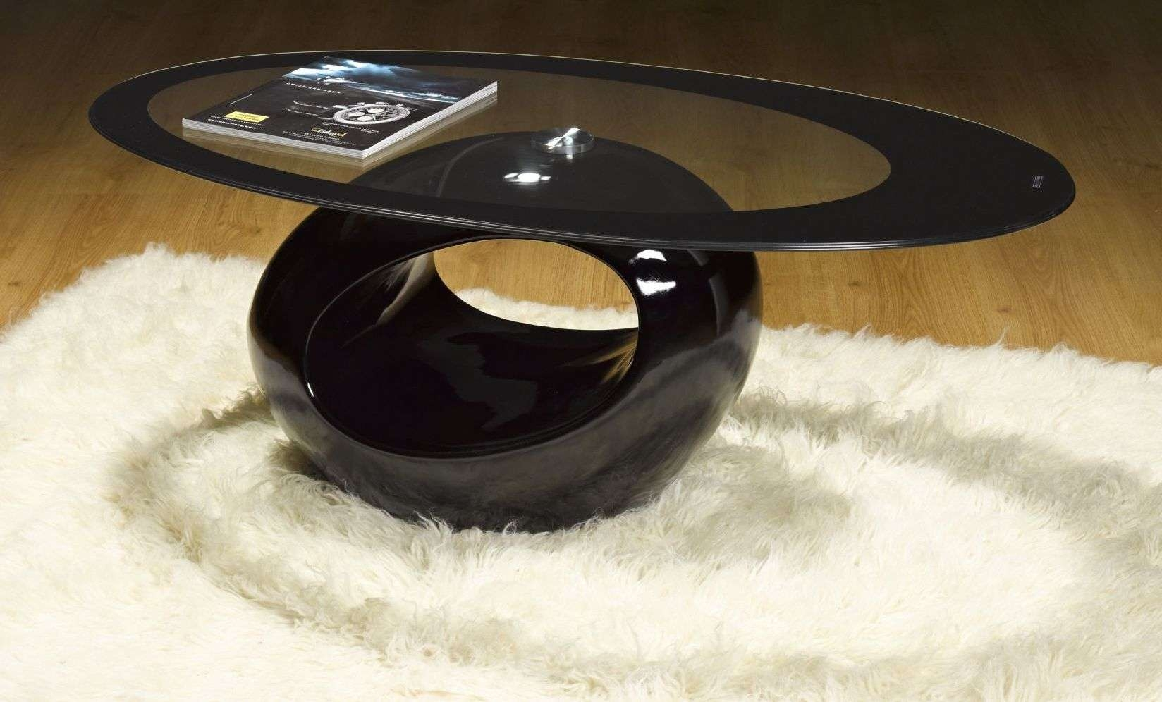 Home With Regard To Fashionable Black Oval Coffee Tables (View 14 of 20)