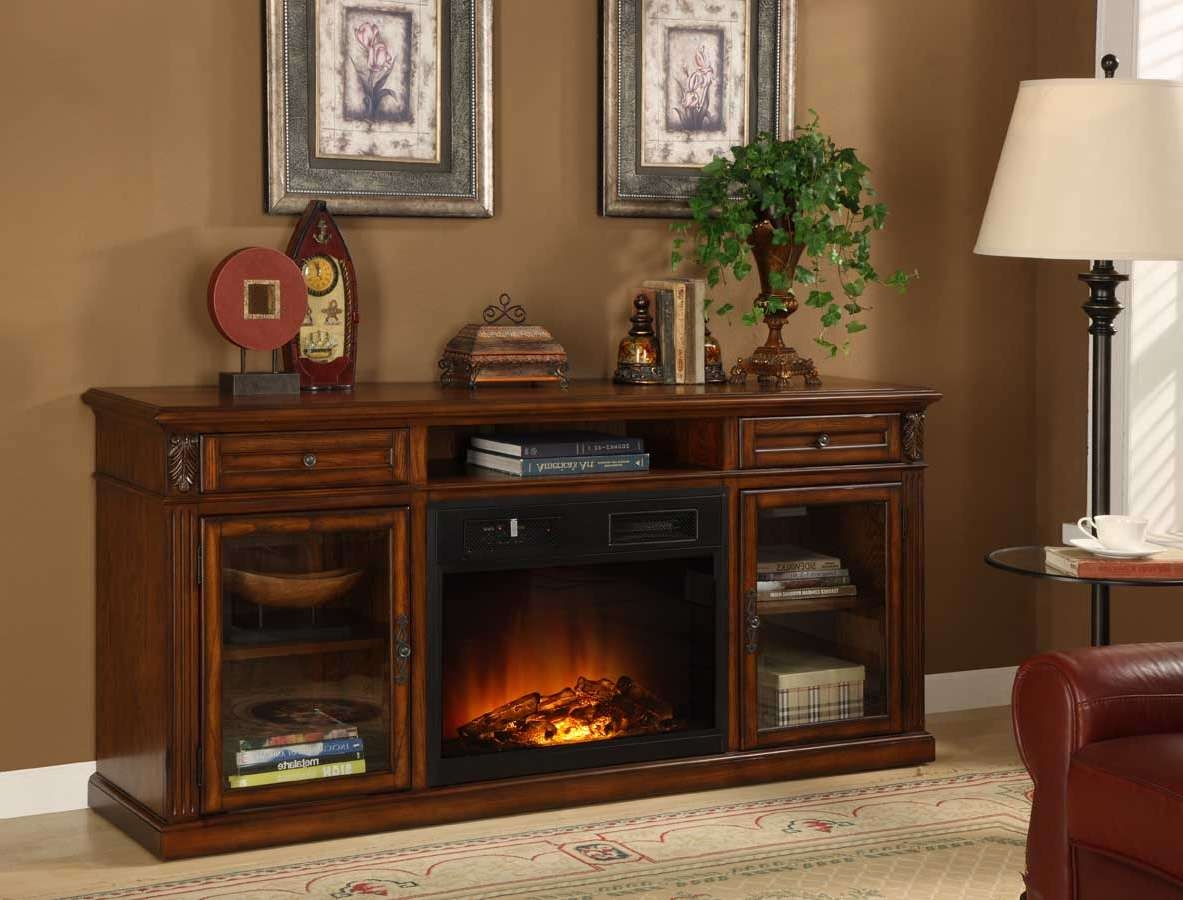 Homelegance Ruby Red Tv Stand With Electric Fireplace 8106 F102 Throughout Red Tv Cabinets (View 6 of 20)