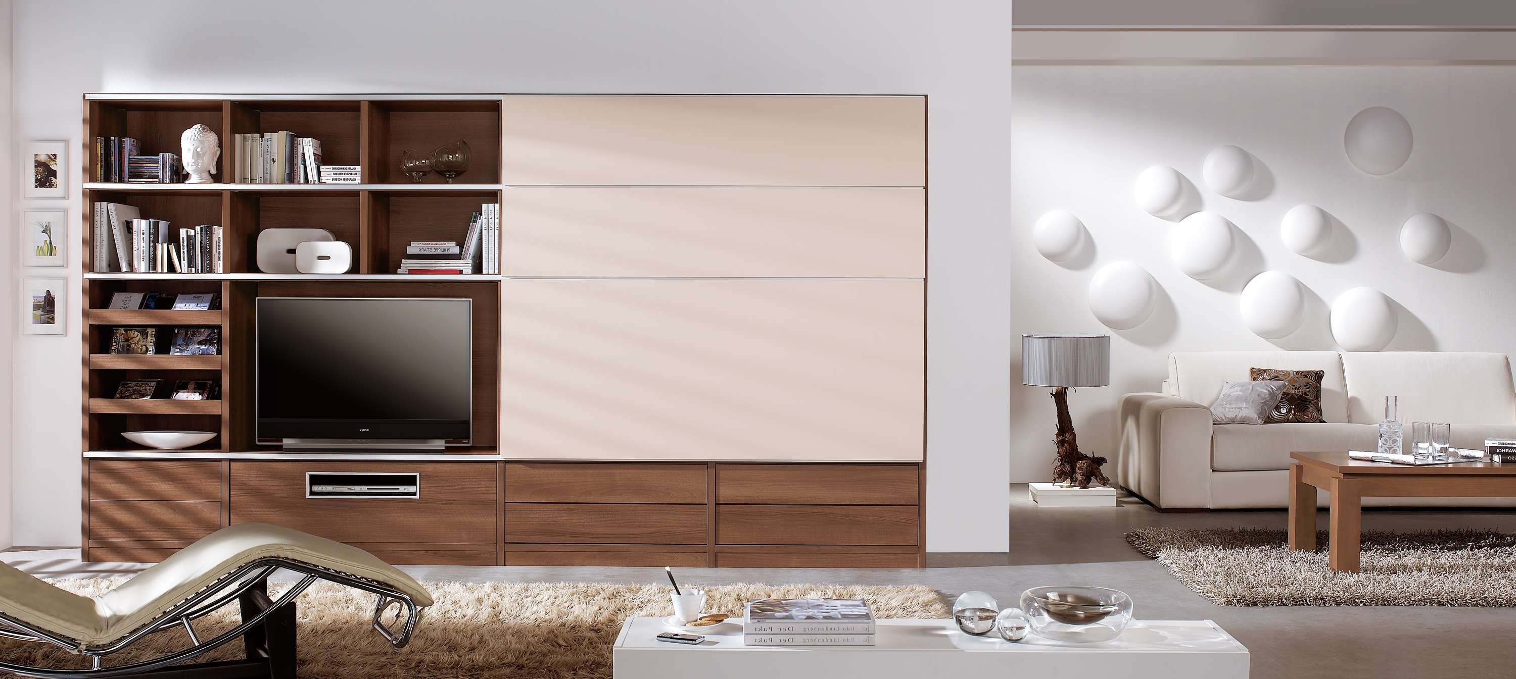 Horrible Light Wood Wall Lcd Tv Wall Cabinet Design Raya Furniture With Regard To Wall Mounted Tv Cabinets With Sliding Doors (View 8 of 20)