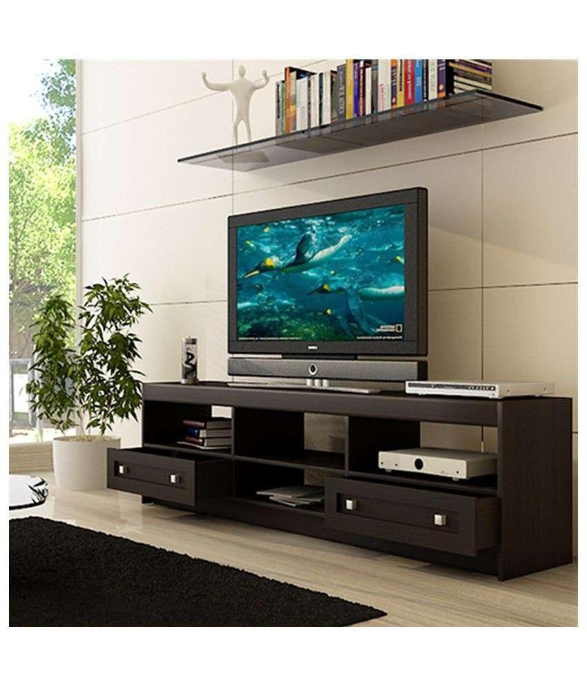 Housefull Brooke Tv Cabinet In Wenge Finish – Buy Housefull Brooke Throughout Wenge Tv Cabinets (View 6 of 20)