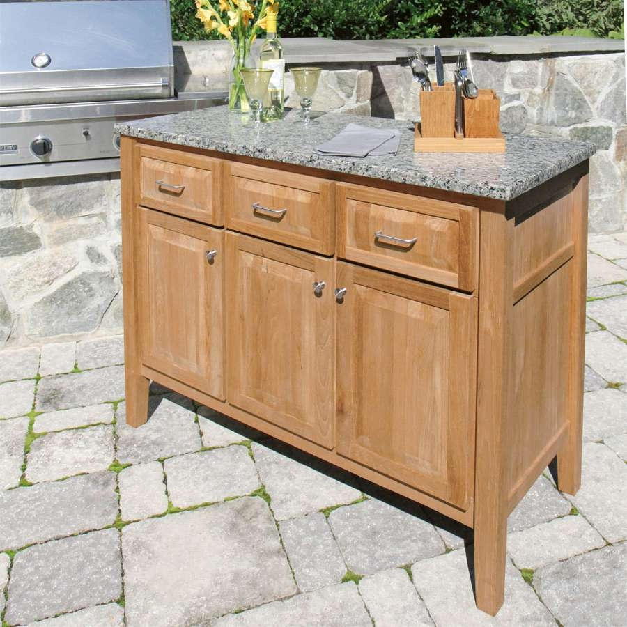 How To Choose An Outdoor Buffet Cabinet — New Decoration For Outdoor Sideboards Cabinets (Gallery 7 of 20)