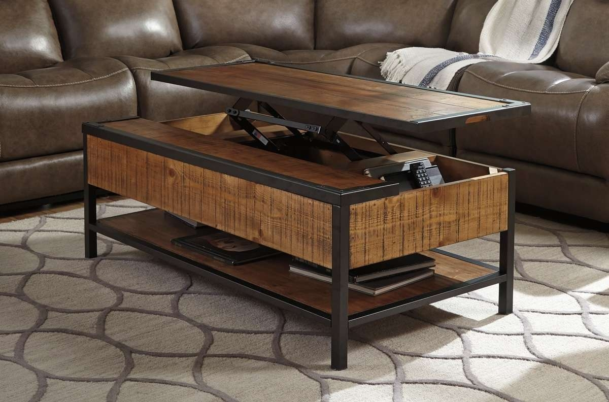 How To Repair An Elevator Lift Top Coffee Tables — The Home Redesign Intended For Popular Lift Top Coffee Table Furniture (View 10 of 20)
