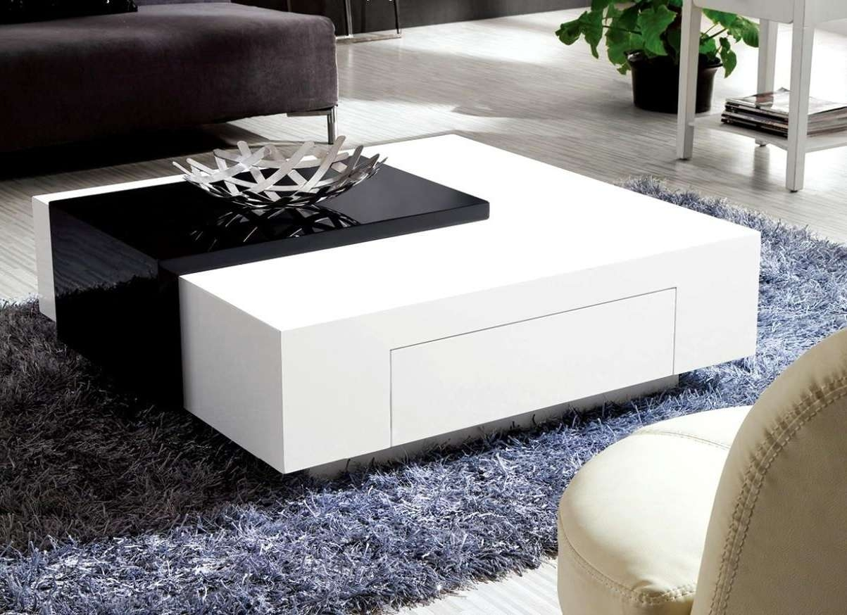 Huge White Modern Coffee Table Tags : 91 Shocking Modern White Throughout Recent Round High Gloss Coffee Tables (Gallery 19 of 20)