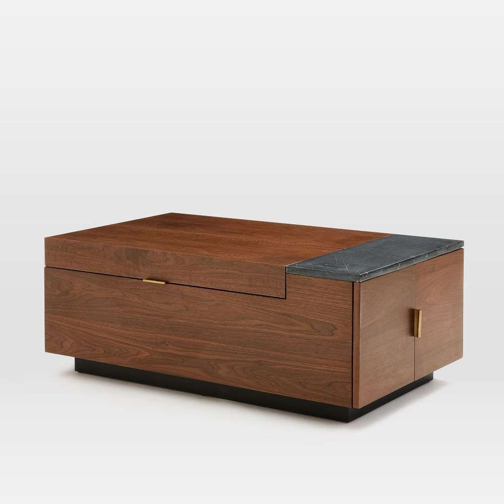 Hyde Hidden Storage / Secret Mini Bar Coffee Table – So That's Cool Intended For Widely Used Coffee Tables With Box Storage (View 5 of 20)