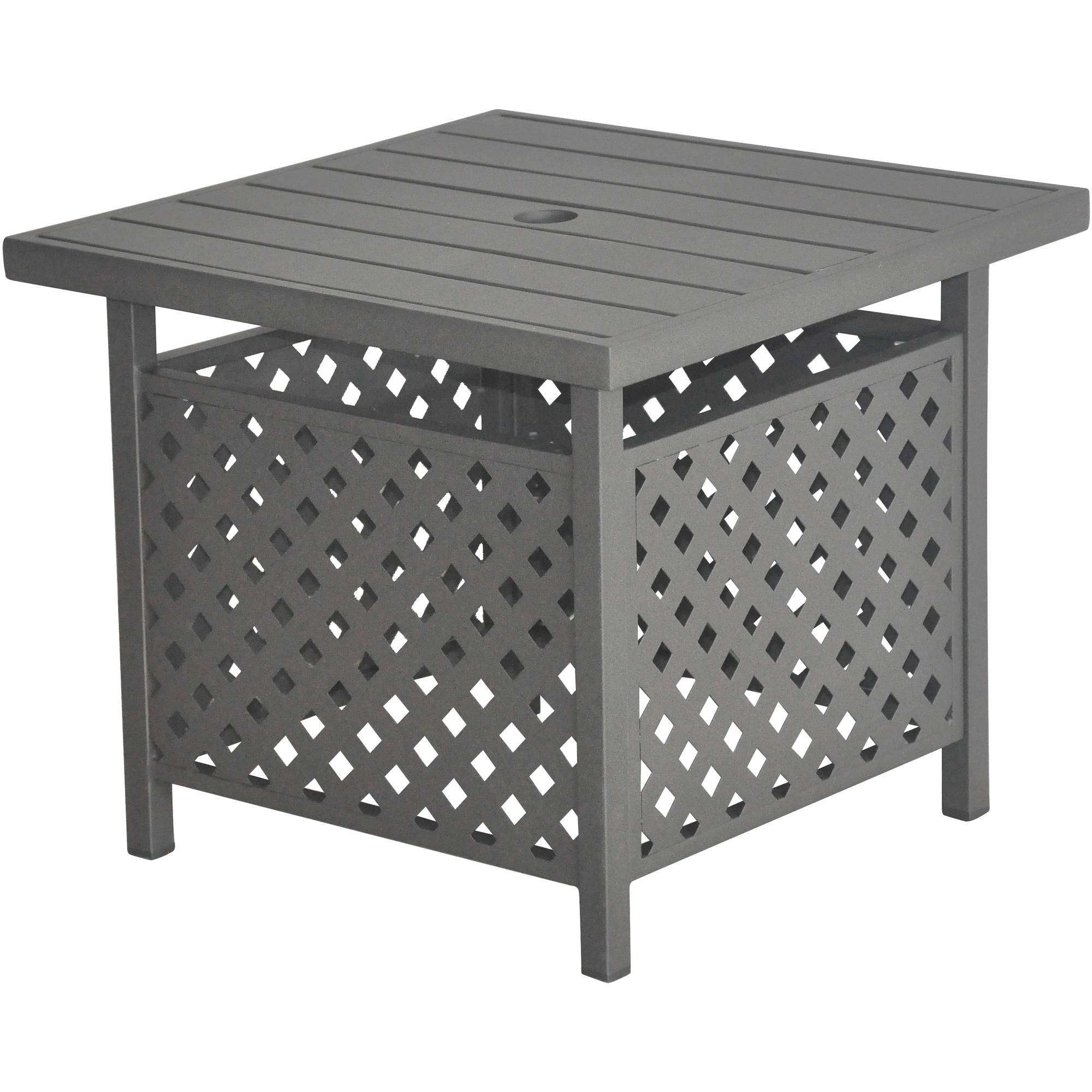 I Love Living Retro Glitz Glass/ Metal End Table – Walmart For Most Recent Retro Glitz Glass Coffee Tables (View 2 of 20)
