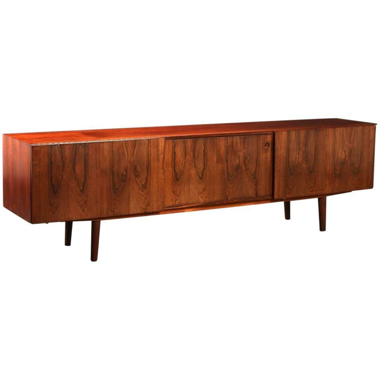 Ib Kofod Larsen Long Low Sideboard Manufacuredfaarup With Regard To Long Low Sideboards (View 5 of 20)