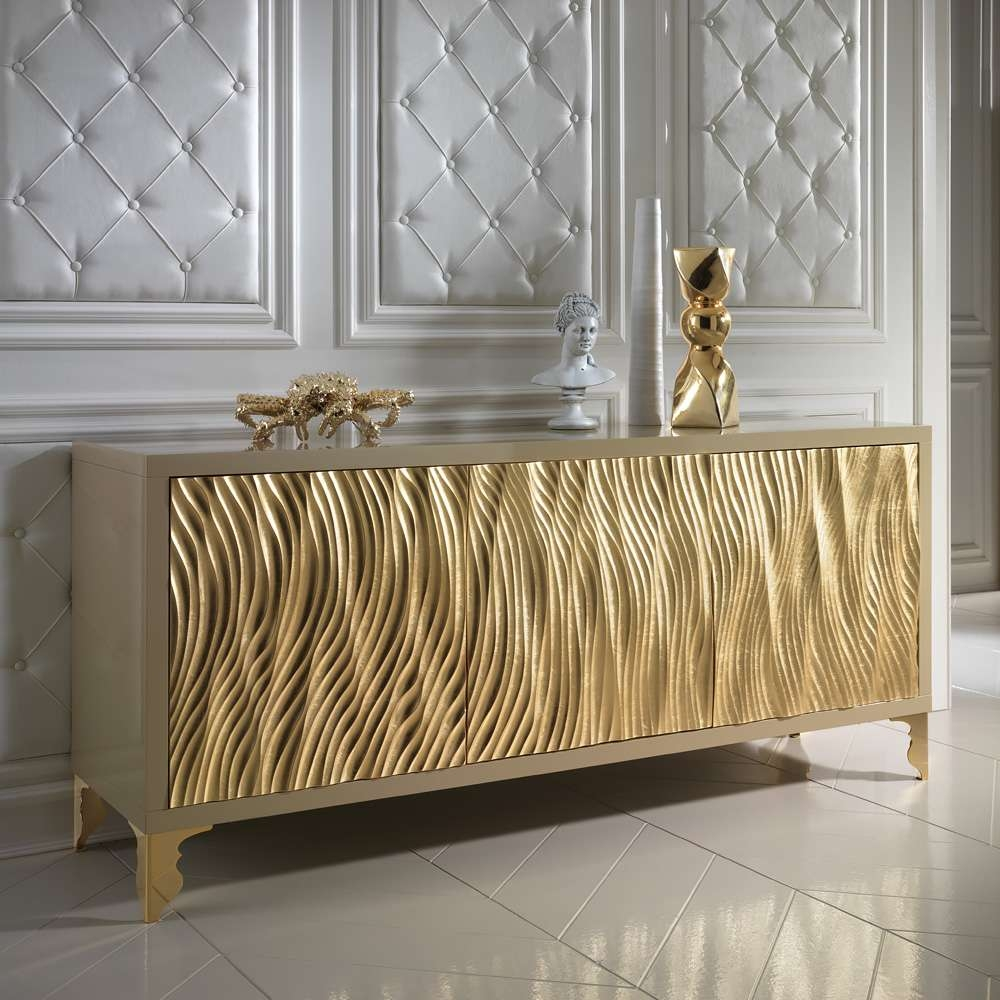 Ideas For Decorate Gold Sideboard — Rocket Uncle Rocket Uncle With Regard To Gold Sideboards (Gallery 19 of 20)