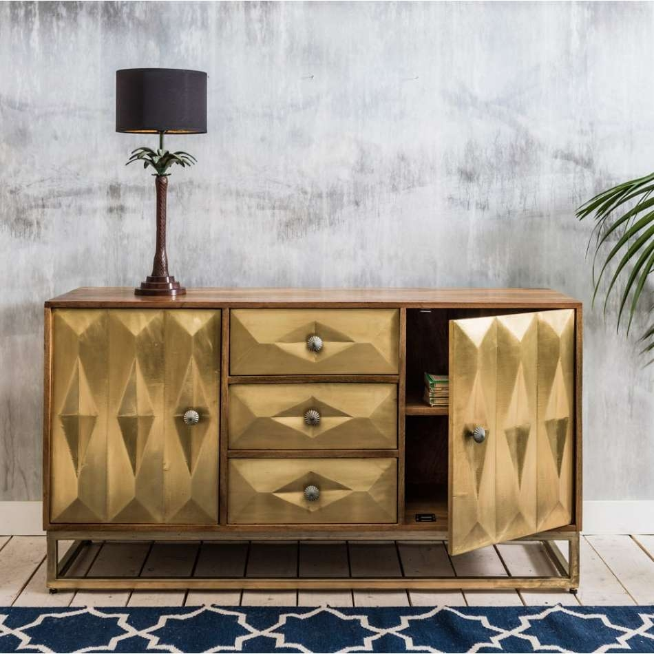 Featured Photo of Gold Sideboards